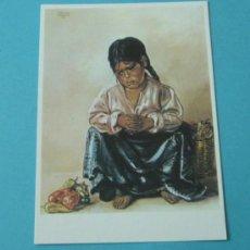 Postales: INDIECITA. MUSEO KREKOVIC DE PALMA DE MALLORCA. Lote 37159624