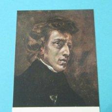 Postales: FEDERICO CHOPIN (1810 - 1849). VALLDEMOSA. MALLORCA. Lote 37159719