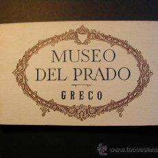 Postales: ANTIGUO BLOC DE POSTALES DEL MUSEO DEL PRADO. GRECO. 20/20 POSTALES.. Lote 37166811