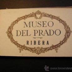 Postales: ANTIGUO BLOC DE POSTALES DEL MUSEO DEL PRADO. RIBERA. 18/20 POSTALES.. Lote 37166850