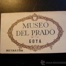 Postales: ANTIGUO BLOC DE POSTALES DEL MUSEO DEL PRADO. GOYA. 13/20 POSTALES.. Lote 37168597