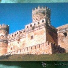 Postales: POSTAL ARTE MADRID - CASTILLO DE MANZANARES EL REAL. SIGLO XV. GALERÍA Y TORRE DL HOMENAJE. ED.1977. Lote 37363493