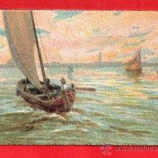 Postales: - 8528 BONITA POSTAL DE ACUARELA EDICION ITALIA NO CIRCULADA VER FOTOS ADICIONALES. Lote 37562307