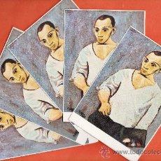 Postales: POSTAL - PABLO RUIZ PICASSO - AUTORETRATO CON PALETA - LOTE DE 5 - ED.SCHORR - NUEVAS - AÑO 1963. Lote 37697491