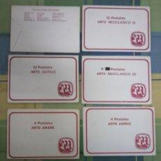 Postales: 8 SOBRES DE POSTALES DE ARTE.. Lote 38004356