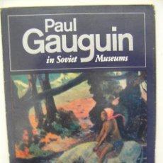 Postales: PAUL GAUGUIN IN SOVIET MUSEUMS, 16 POSTALES, 20X15, 1982,REF CJ1. Lote 38593245
