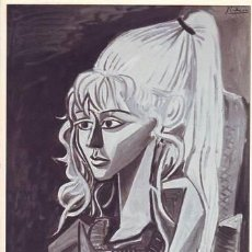 Postales: SYLVETTE. PICASSO. Lote 45643364