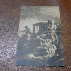Postales: POSTAL: MONASTERIO DEL ESCORIAL .-EL CACHARRERO DE GOYA.-ESPAÑA-. Lote 39051113