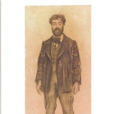 Postales: RAMON CASAS, RETRAT DEL PINTOR JOAQUIM MIR (1899) - COL·LECCIÓ JOIES DEL MUSEU - SIN CIRCULAR. Lote 39055989