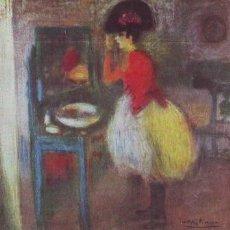 Postales: TOILETTE (AÑO 1900). MUSEO PICASSO, BARCELONA. PICASSO. Lote 39117509