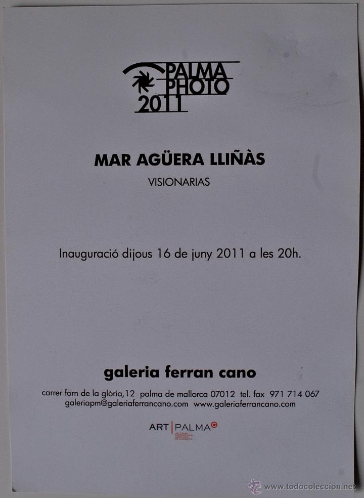 Postales: PRECIOSA POSTAL-FOTOGRAFIA-INAUGURACION EXPOSICION DE LA FOTOGRAFA MALLORQUINA, MAR AGÜERA. PERRO - Foto 2 - 39402372