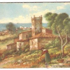 Postales: POSTAL FECHADA EN EL 53 - M. G. - SERIE PAISAJES - Nº5 MODELOS. Lote 39449044