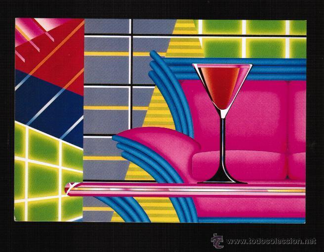POSTAL TEMA ARTE - COCKTAIL GLASS - ALLAN BUTLER (Postales - Postales Temáticas - Arte)