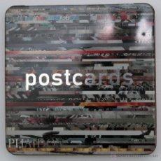 Postales: CAJA METÁLICA CON 48 POSTALES FOTOGRAFOS MAGNUM PHAIDON. Lote 40077520