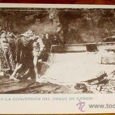 Postales: ANTIGUA POSTAL DE J. M CARBONERO - LA CONVERSACION DEL DUQUE DE GANDIA - ED. H. M. MADRID - NO CIRCU. Lote 38237775