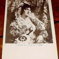 Postales: ANTIGUA POSTAL DE J. CASADO DEL ALISAL - LA TIRANA - ED. H. M. MADRID - NO CIRCULADA - SIN DIVIDIR.. Lote 38237869