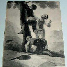 Postales: ANTIGUA POSTAL DEL CUADRO LOS MUCHACHOS TREPANDO AL ARBOL - GOYA . MUSEO DEL PRADO - ESCRITA EN 1913. Lote 38246221