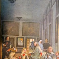 Postales: VELAZQUEZ: LAS MENINAS. MUSEO DEL PRADO. FOTOTIPIA HAUSER Y MENET. AÑOS 30 . Lote 40316455