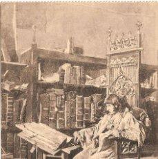 Postales: J. MORENO CARBONERO, EL PRÍNCIPE D. CARLOS DE DIANA - FOT. LACOSTE - SIN CIRCULAR. Lote 40383510