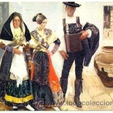 Postales: 7-ARTE11. POSTAL TIPOS DE LA ALBERCA. SALAMANCA. JOAQUIN SOROLLA BASTIDA. Lote 40485570
