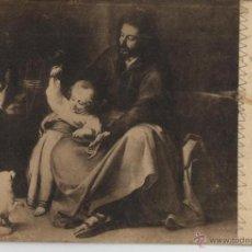 Postales: POSTAL SACRA FAMILIA DEL PAJARITO DE MURILLO. Lote 40535664