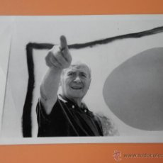 Postales: MIRÓ A LA FONDATION MAEGHT. ST-PAUL DE VENCE 1968 - JEAN MOUNICQ. Lote 36978809