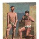 Postales: PICASSO - LA FLAUTA DE PAN - MUSEO DEL PRADO. Lote 40858160
