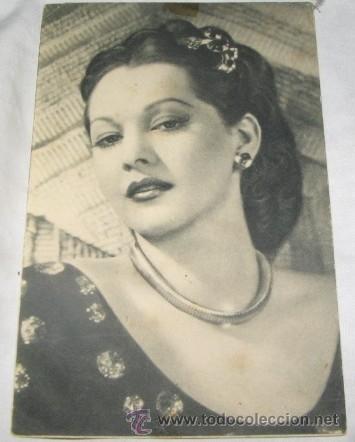 FOTO POSTAL DE ARTISTA, MARIA MONTEZ (Postales - Postales Temáticas - Arte)