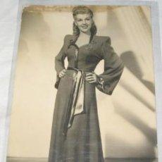 Postales: FOTO POSTAL DE ARTISTA, MARIE MAC DONALD. Lote 40937862