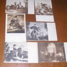 Postales: LOTE DE 6 POSTALES CUADROS. Lote 41111913