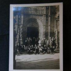 Postales: TARJETA POSTAL FOTOGRÁFICA SIN CIRCULAR GRUPO POSANDO FRENTE A CATEDRAL NIÑOS PRINCIPIOS SIGLOS XX. Lote 41155557