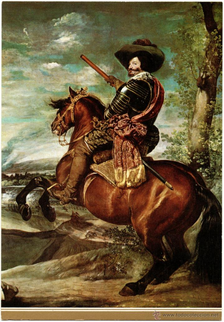 """Resultado de imagen de El Conde Duque de Olivares"""" por Velazquez"""