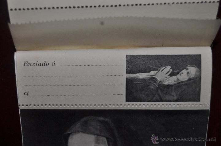 Postales: ALBUM DE ANTIGUAS POSTALES CUADROS DE TIZIANO. MUSEO DEL PRADO. FOT. LACOSTE. 24 TARJETAS - Foto 3 - 41331607
