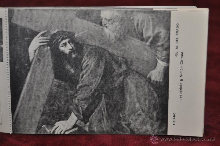 Postales: ALBUM DE ANTIGUAS POSTALES CUADROS DE TIZIANO. MUSEO DEL PRADO. FOT. LACOSTE. 24 TARJETAS - Foto 9 - 41331607
