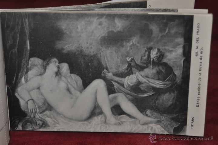 Postales: ALBUM DE ANTIGUAS POSTALES CUADROS DE TIZIANO. MUSEO DEL PRADO. FOT. LACOSTE. 24 TARJETAS - Foto 17 - 41331607