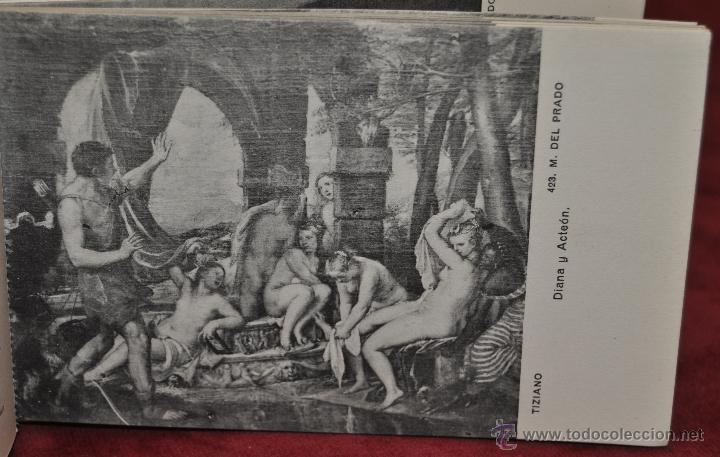 Postales: ALBUM DE ANTIGUAS POSTALES CUADROS DE TIZIANO. MUSEO DEL PRADO. FOT. LACOSTE. 24 TARJETAS - Foto 21 - 41331607