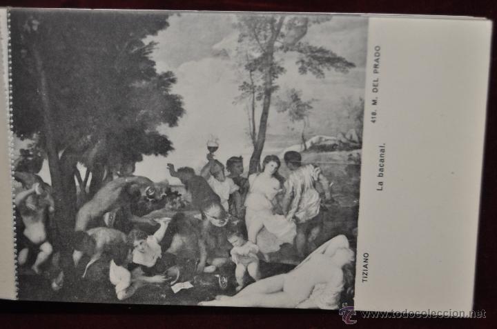 Postales: ALBUM DE ANTIGUAS POSTALES CUADROS DE TIZIANO. MUSEO DEL PRADO. FOT. LACOSTE. 24 TARJETAS - Foto 23 - 41331607