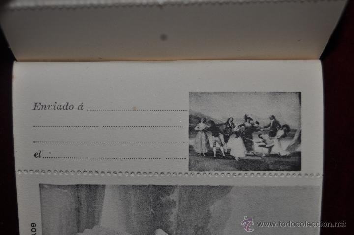 Postales: ALBUM DE ANTIGUAS POSTALES GOYA. TAPICES. MUSEO DEL PRADO. FOT. LACOSTE. 24 TARJETAS - Foto 2 - 41331876