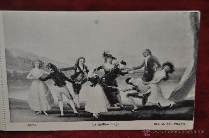 Postales: ALBUM DE ANTIGUAS POSTALES GOYA. TAPICES. MUSEO DEL PRADO. FOT. LACOSTE. 24 TARJETAS - Foto 3 - 41331876