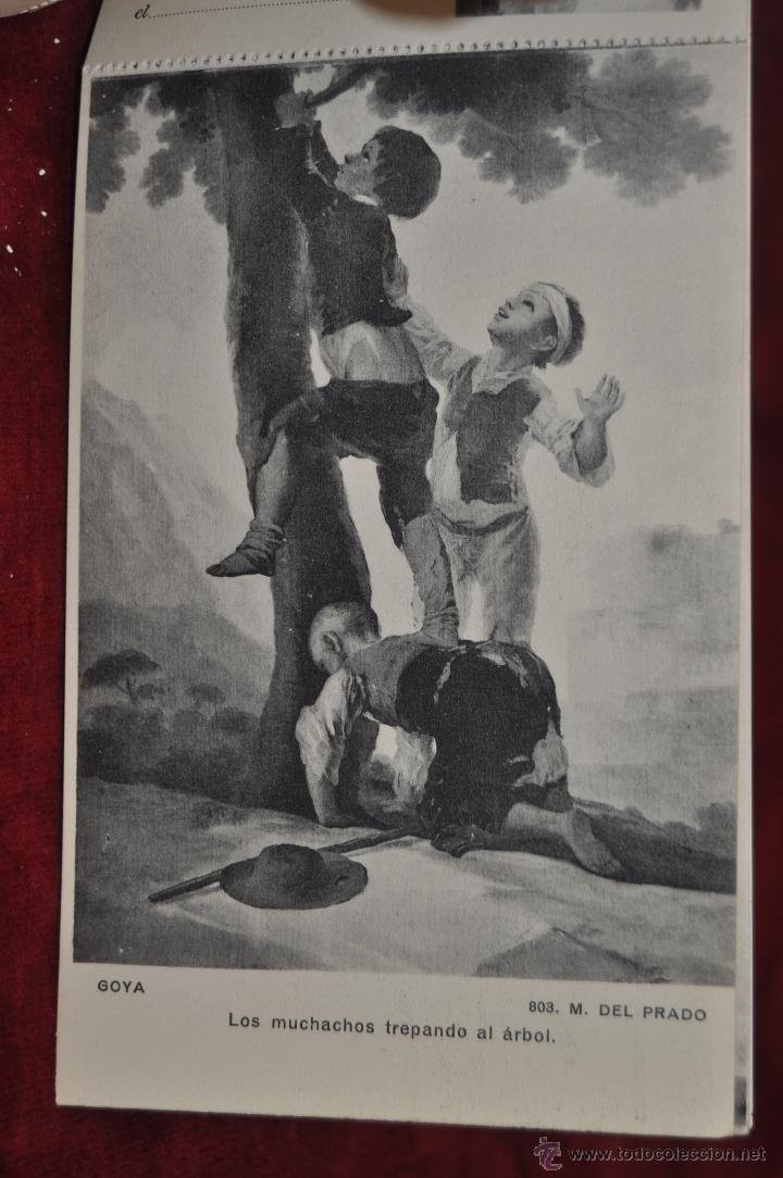 Postales: ALBUM DE ANTIGUAS POSTALES GOYA. TAPICES. MUSEO DEL PRADO. FOT. LACOSTE. 24 TARJETAS - Foto 4 - 41331876