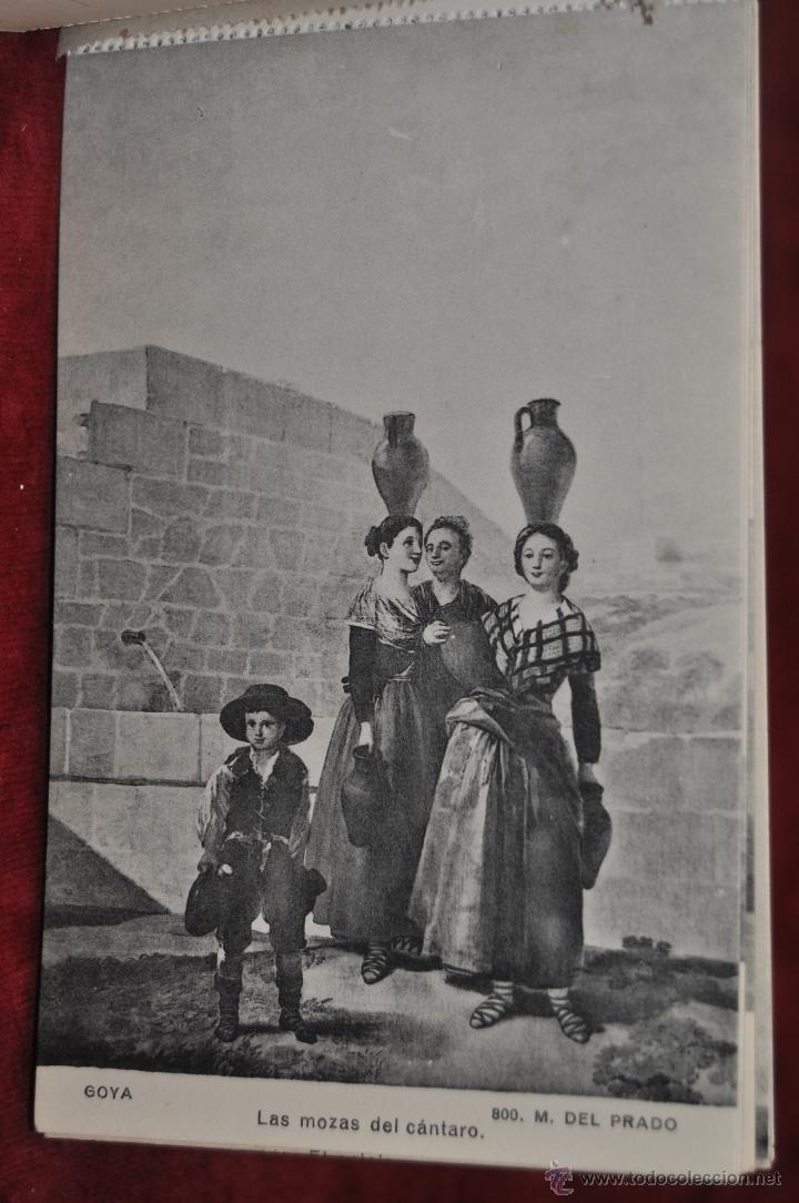 Postales: ALBUM DE ANTIGUAS POSTALES GOYA. TAPICES. MUSEO DEL PRADO. FOT. LACOSTE. 24 TARJETAS - Foto 7 - 41331876