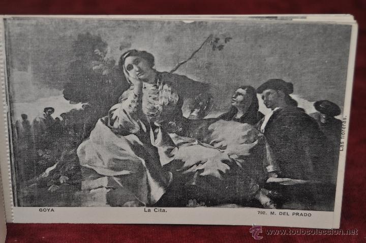 Postales: ALBUM DE ANTIGUAS POSTALES GOYA. TAPICES. MUSEO DEL PRADO. FOT. LACOSTE. 24 TARJETAS - Foto 12 - 41331876