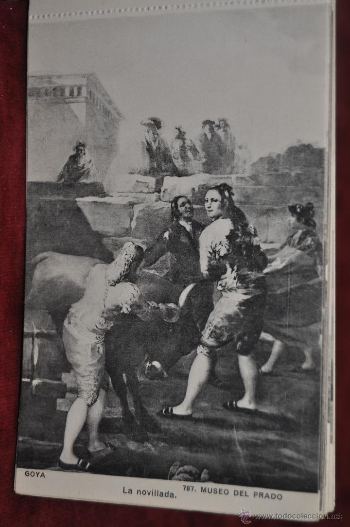 Postales: ALBUM DE ANTIGUAS POSTALES GOYA. TAPICES. MUSEO DEL PRADO. FOT. LACOSTE. 24 TARJETAS - Foto 15 - 41331876