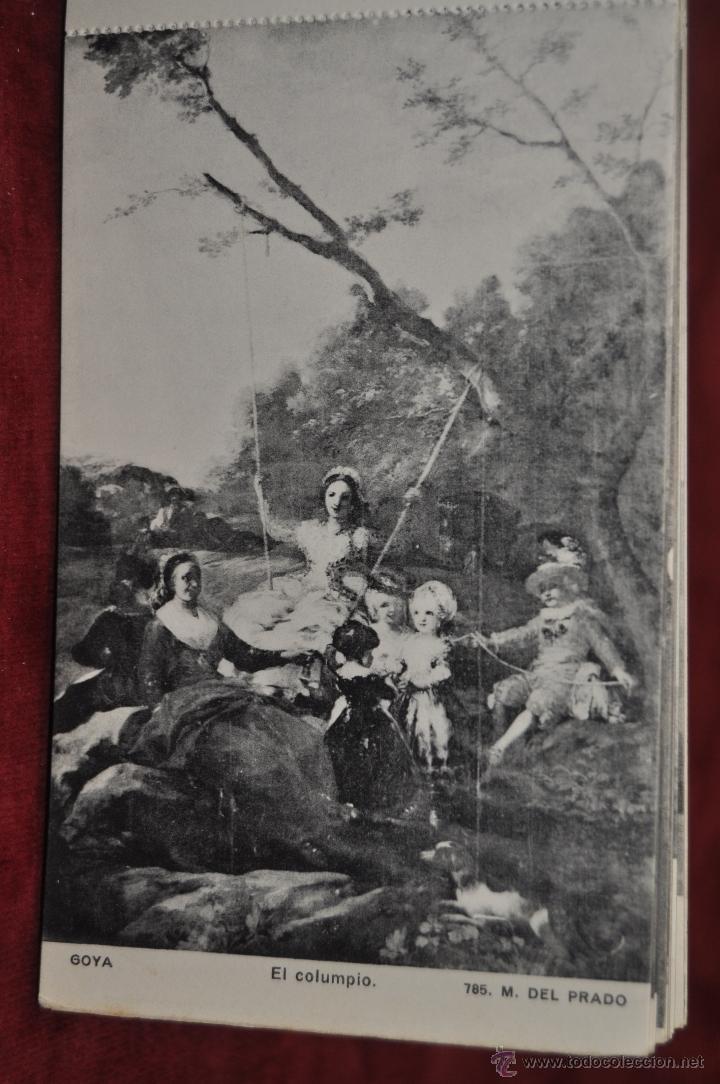 Postales: ALBUM DE ANTIGUAS POSTALES GOYA. TAPICES. MUSEO DEL PRADO. FOT. LACOSTE. 24 TARJETAS - Foto 16 - 41331876