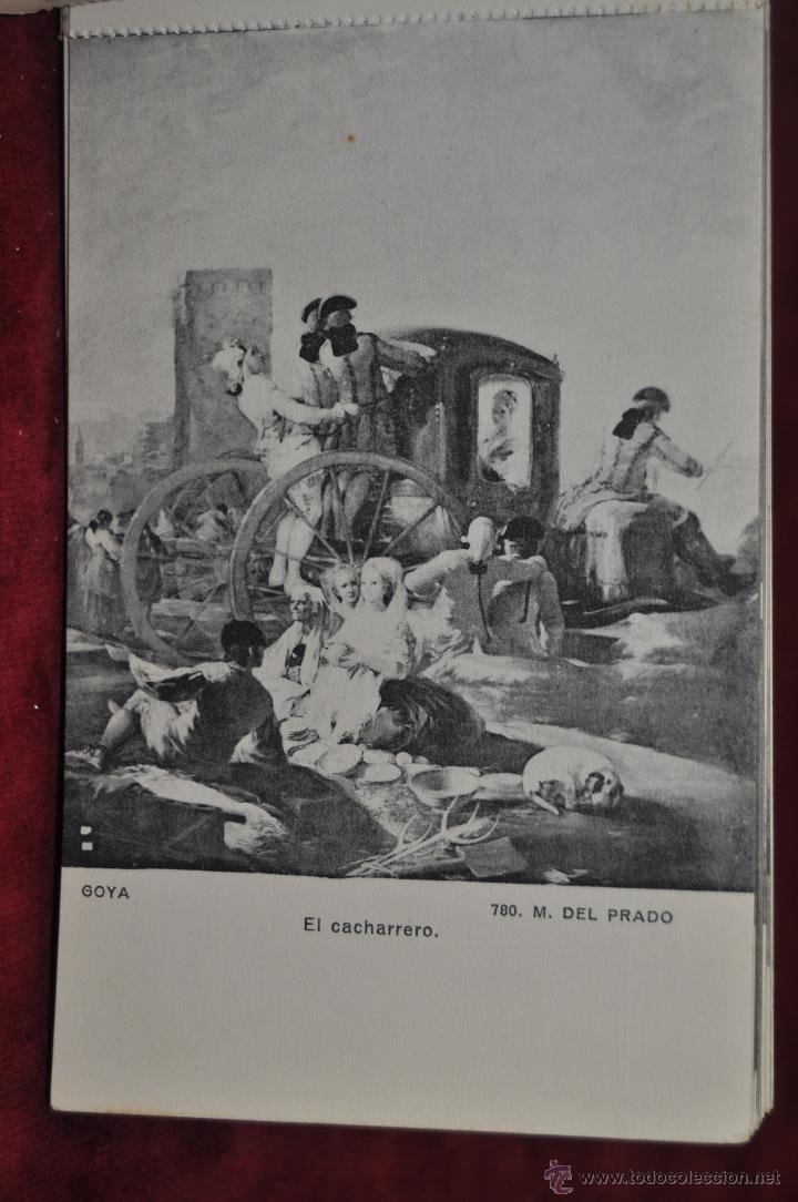 Postales: ALBUM DE ANTIGUAS POSTALES GOYA. TAPICES. MUSEO DEL PRADO. FOT. LACOSTE. 24 TARJETAS - Foto 18 - 41331876