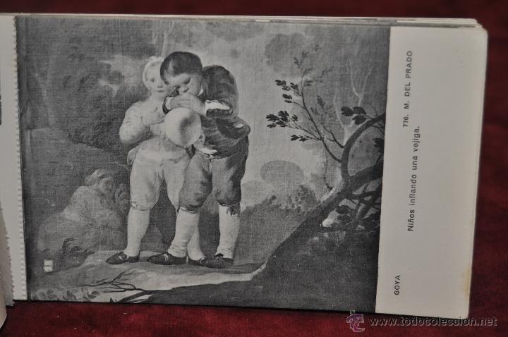 Postales: ALBUM DE ANTIGUAS POSTALES GOYA. TAPICES. MUSEO DEL PRADO. FOT. LACOSTE. 24 TARJETAS - Foto 19 - 41331876