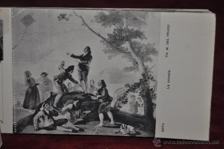 Postales: ALBUM DE ANTIGUAS POSTALES GOYA. TAPICES. MUSEO DEL PRADO. FOT. LACOSTE. 24 TARJETAS - Foto 21 - 41331876