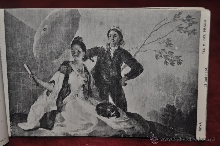 Postales: ALBUM DE ANTIGUAS POSTALES GOYA. TAPICES. MUSEO DEL PRADO. FOT. LACOSTE. 24 TARJETAS - Foto 22 - 41331876