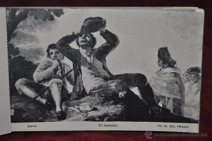 Postales: ALBUM DE ANTIGUAS POSTALES GOYA. TAPICES. MUSEO DEL PRADO. FOT. LACOSTE. 24 TARJETAS - Foto 23 - 41331876