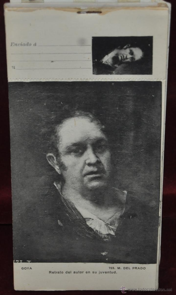 Postales: ALBUM DE ANTIGUAS POSTALES GOYA. TAPICES. MUSEO DEL PRADO. FOT. LACOSTE. 24 TARJETAS - Foto 28 - 41331876